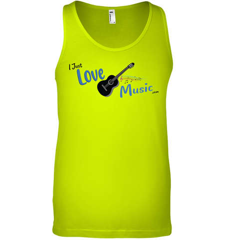 I Just LOVE Music  - Bella + Canvas Unisex Jersey Tank