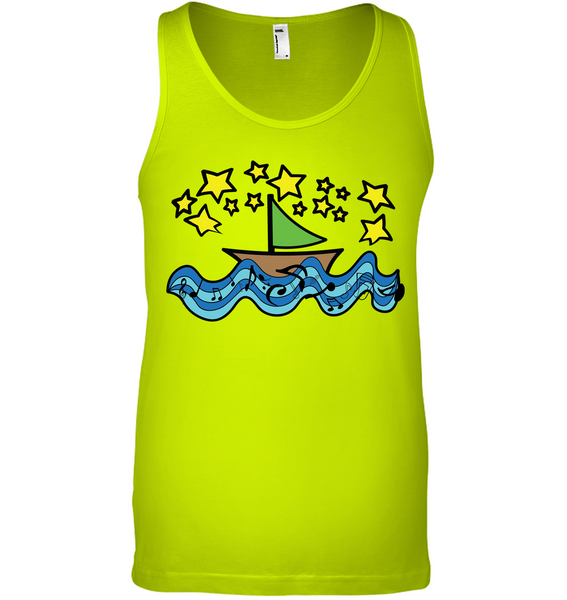 Sailing Under the Stars - Bella + Canvas Unisex Jersey Tank