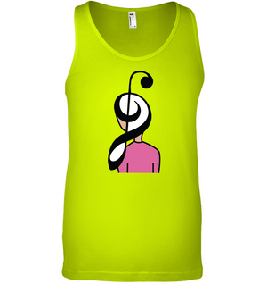 Musical Hairstyle - Bella + Canvas Unisex Jersey Tank