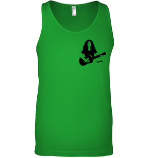 Playin My Guitar, Sophie (Pocket Size) - Bella + Canvas Unisex Jersey Tank