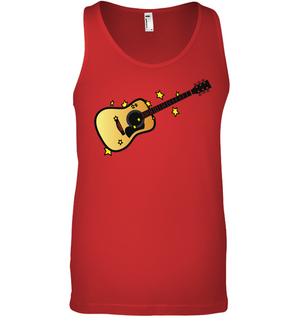 Acoustic Guitar in the Stars - Bella + Canvas Unisex Jersey Tank