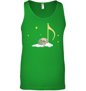 Night Note and stars - Bella + Canvas Unisex Jersey Tank