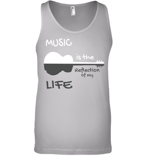 Music is the Reflection of my Life - Bella + Canvas Unisex Jersey Tank