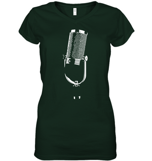The Mic - Hanes Women's Nano-T® V-Neck T-Shirt