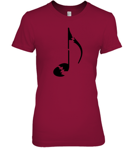 Broken Note - Hanes Women's Nano-T® T-shirt
