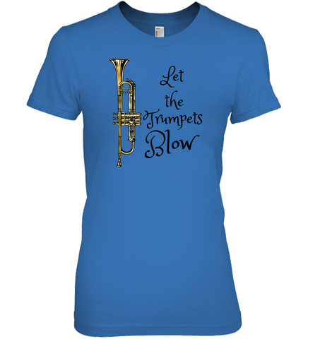 Let the trumpets blow - Hanes Women's Nano-T® T-Shirt