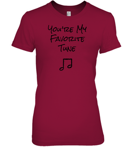 You're My Favorite Tune - Hanes Women's Nano-T® T-shirt