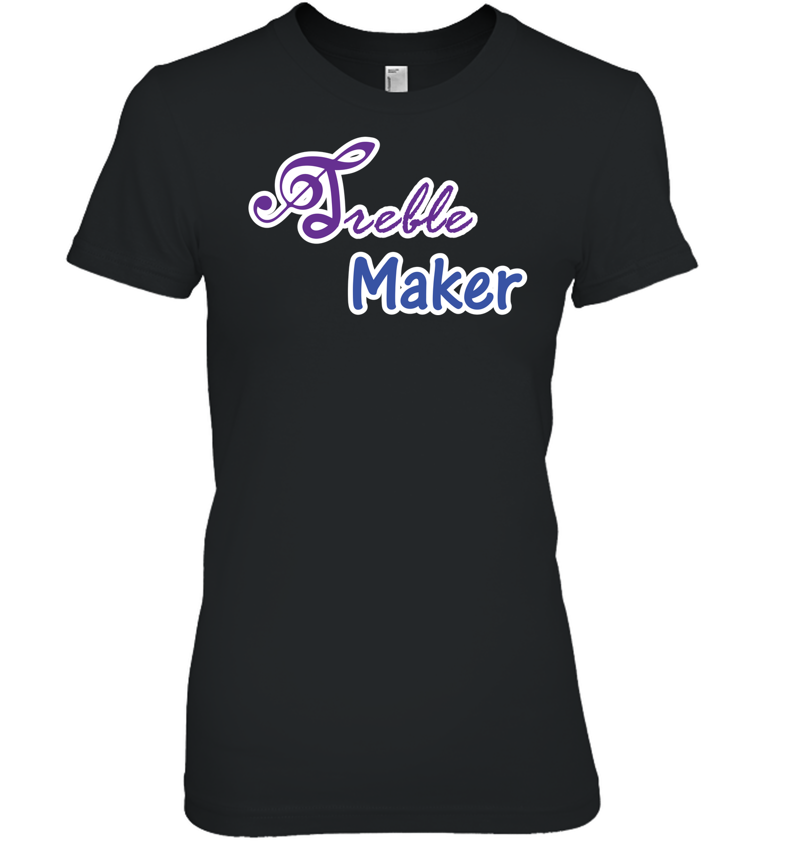 Treble Maker plain and simple - Hanes Women's Nano-T® T-Shirt