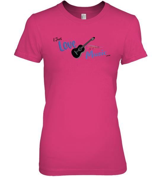 I Just LOVE Music  - Hanes Women's Nano-T® T-Shirt