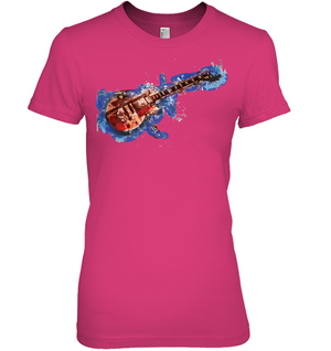 Guitar Art - Hanes Women's Nano-T® T-shirt
