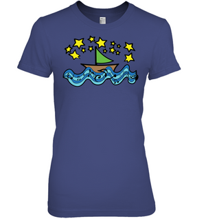 Sailing Under the Stars - Hanes Women's Nano-T® T-shirt