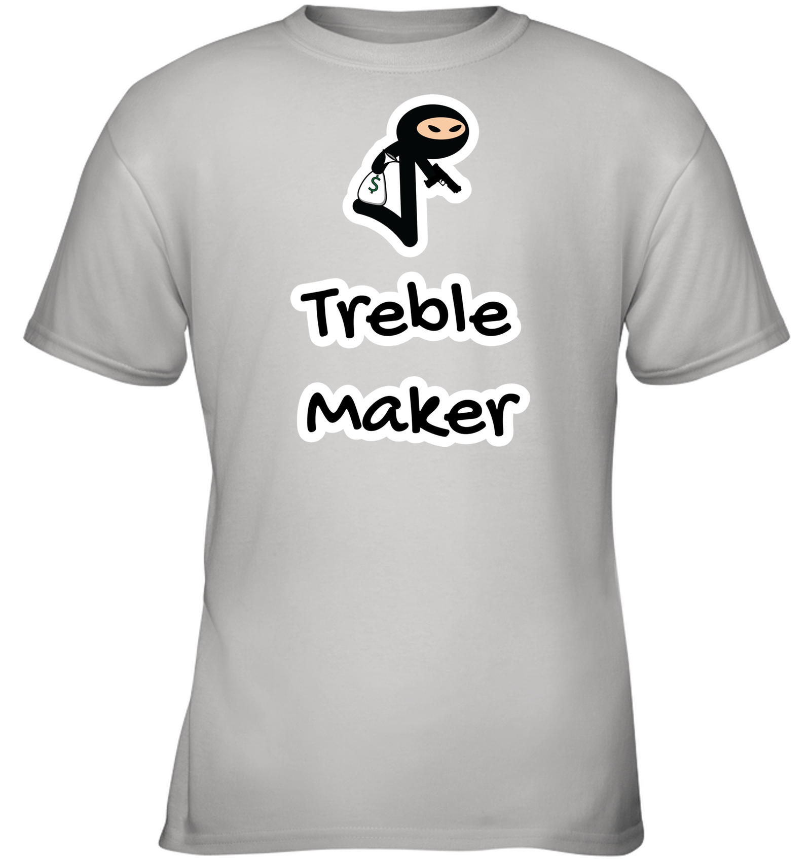 Treble Maker Robber - Gildan Youth Short Sleeve T-Shirt