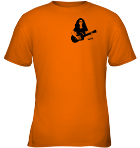 Playin My Guitar, Sophie (Pocket Size) - Gildan Youth Short Sleeve T-Shirt