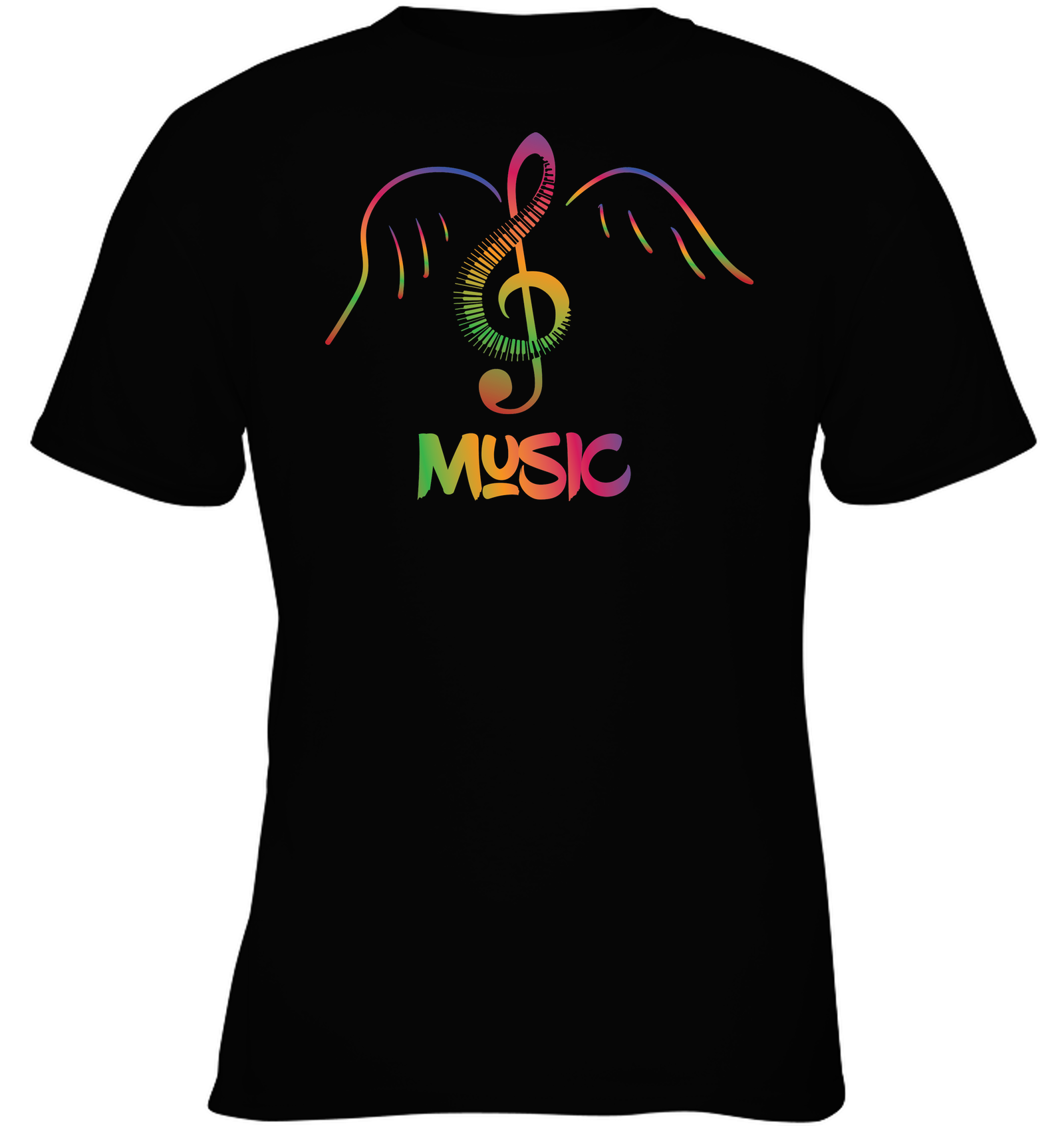 Musical Wings - Gildan Youth Short Sleeve T-Shirt