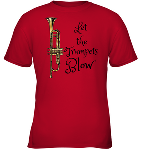 Let the Trumpets Blow - Gildan Youth Short Sleeve T-Shirt