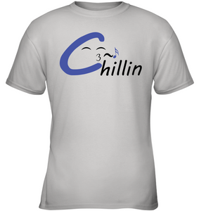 Chillin enjoying music - Gildan Youth Short Sleeve T-Shirt
