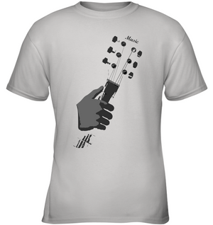 Guitar in my Hand - Gildan Youth Short Sleeve T-Shirt