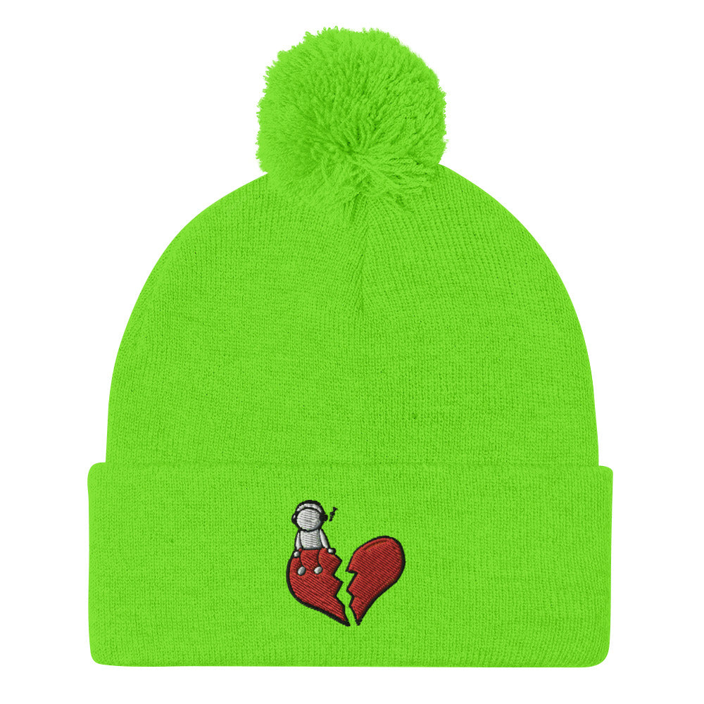 People seem to like Breakup Songs Pom-Pom Beanie (Embroidered)