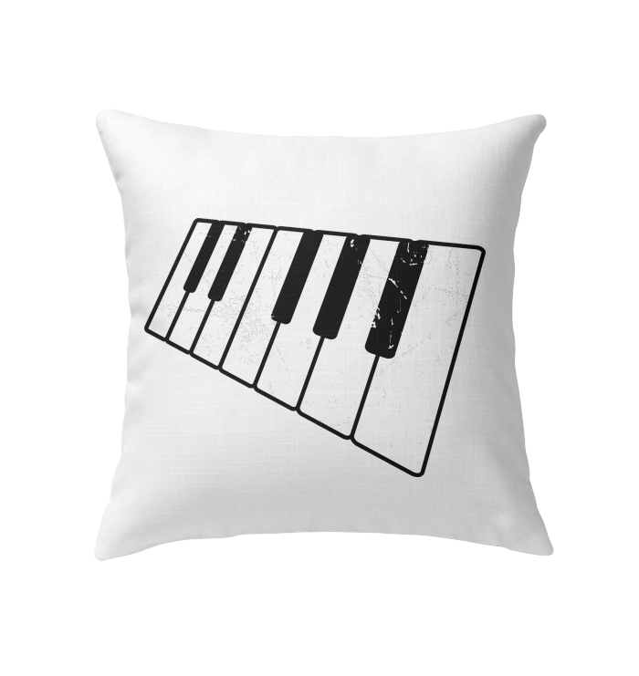 Floating Piano Keyboard - Indoor Pillow