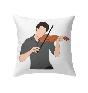 Guy Playin the Violin - Indoor Pillow
