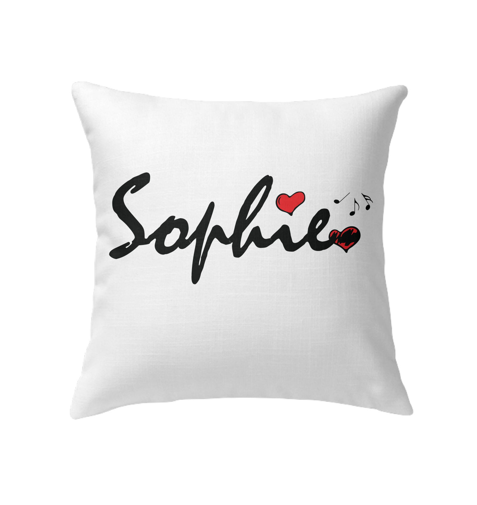Sophie Loves Music - Indoor Pillow