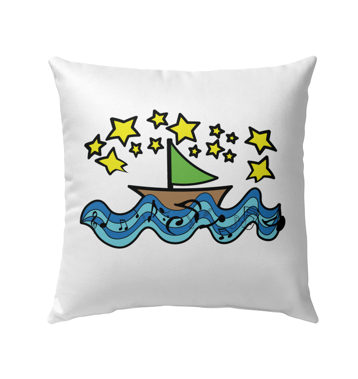 Sailing Under the Stars - Outdoor Pillow