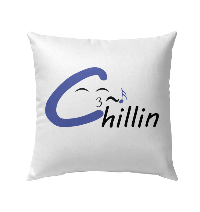 Chillin enjoying music - Outdoor Pillow
