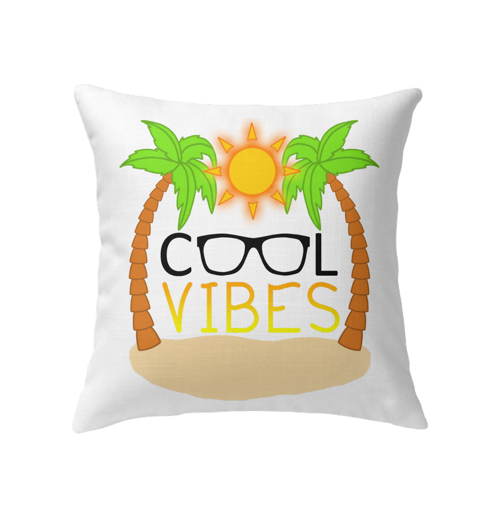 Cool Vibes - Indoor Pillow