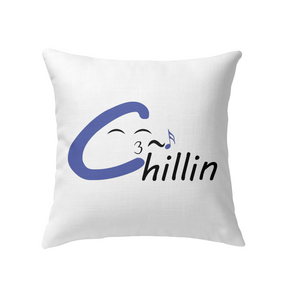 Chillin enjoying music - Indoor Pillow