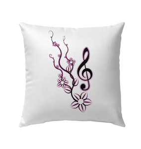 Treble Vine - Outdoor Pillow