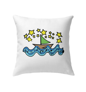 Sailing Under the Stars - Indoor Pillow