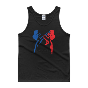Savate Silhouette / Kensho - Black Mens/Unisex Tank