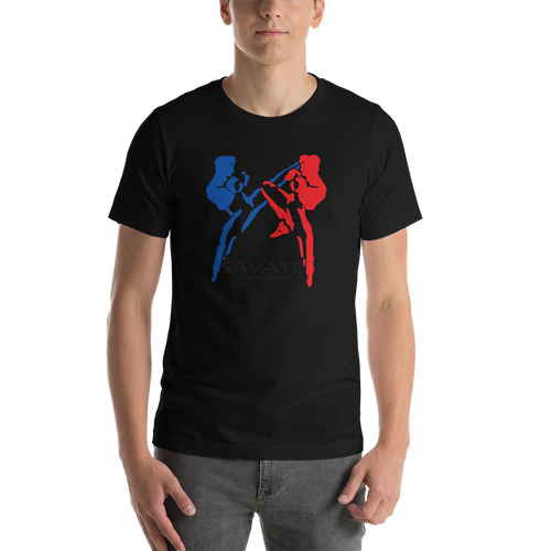 Savate Silhouette / Kensho - Heather Unisex T-Shirt