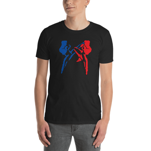 Savate Silhouette - Kensho Black Unisex T-Shirt