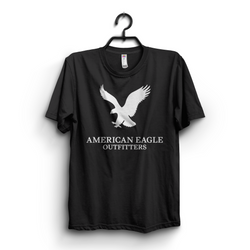 Black Eagle Printed T-shirt all colors available at buysense