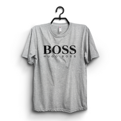Hazel Grey Boss Printed T-shirt is available at Buysense