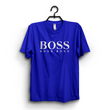 Hazel Grey Boss Printed T-shirt