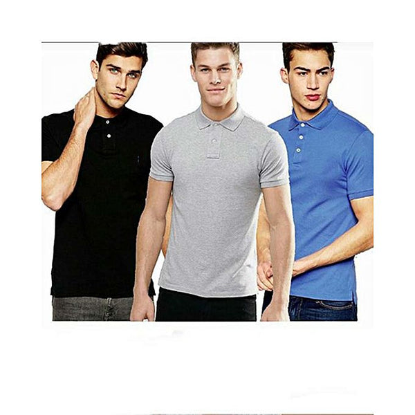 Pack Of 3 - :Polo T-Shirt For Men