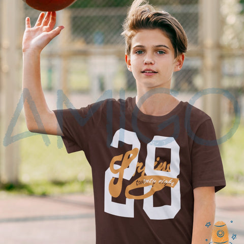 Brown Twenty Eight T-shirt