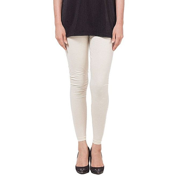 White Cotton Tights For Women