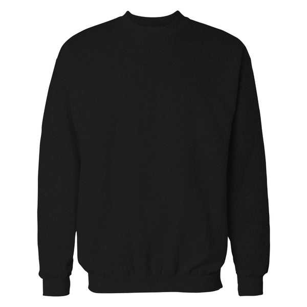 Black Plain Sweatshirt