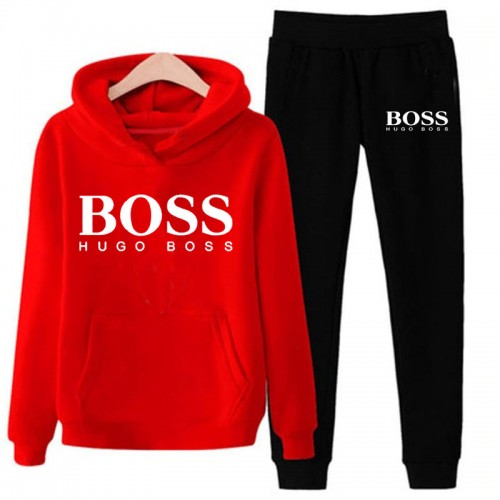 Boss Red And Black Tracksuit