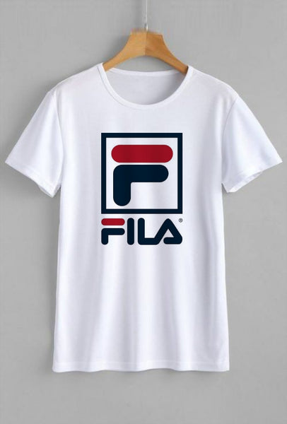 Fila Printed White T-shirt