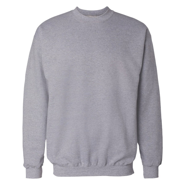 Heather Grey Plain Sweatshirt