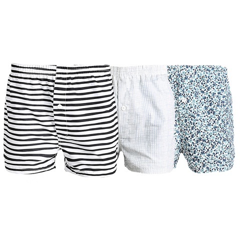 Pack of 3 :Cotton Comfrotable Boxers For Men