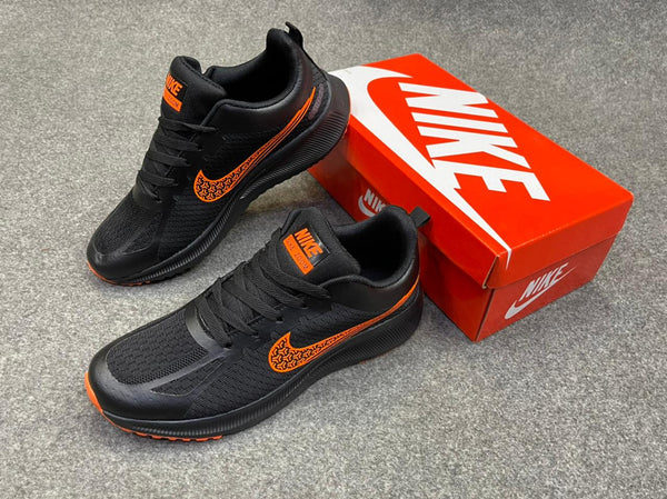 New Nike shoes zoom Black and Orange