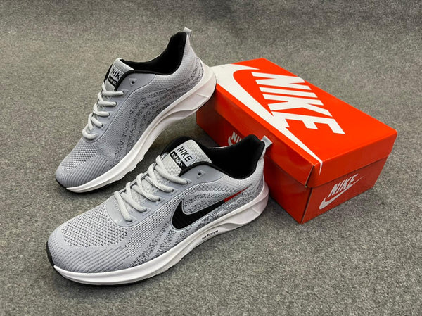 New Nike shoes zoom AshGrey Black and Red