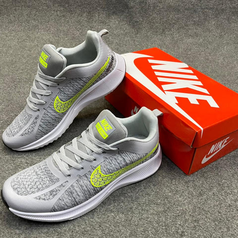 New Nike shoes zoom AshGrey and Green