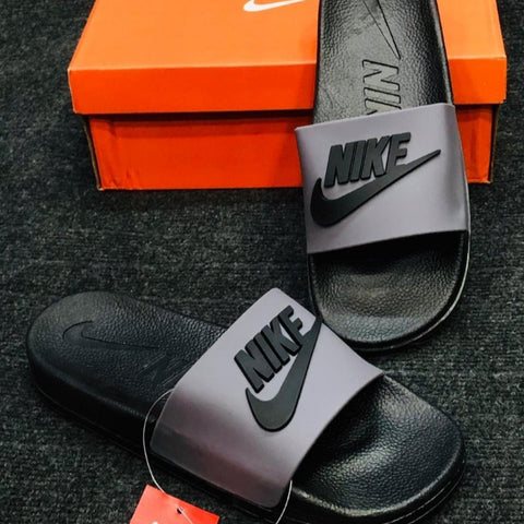 Nike Slippers Grey
