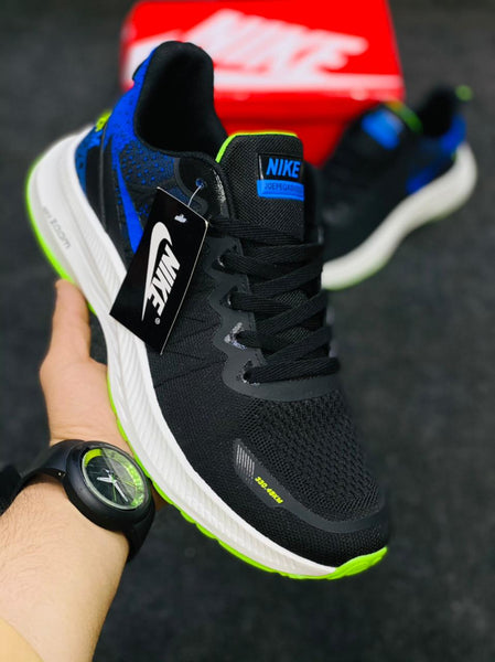 Nike Zoom New Black and Royal Blue